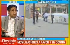 Oposición afirma que el pueblo es el que se movilizará el 21 F por respeto al voto