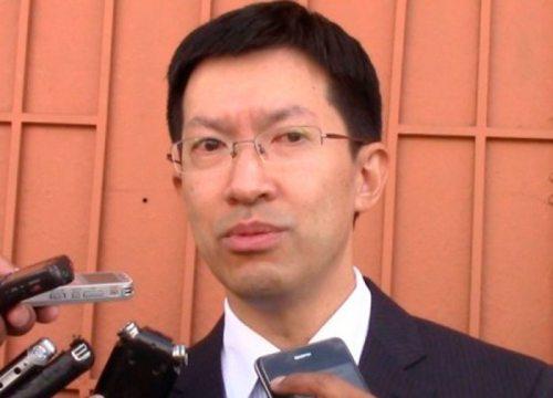 LIANG YU, EMBAJADOR DE CHINA.