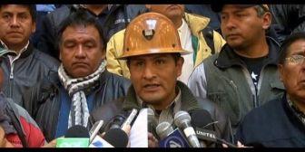 Hoy nuevo intento de sacar al contestatario Mitma de la Central Obrera Boliviana