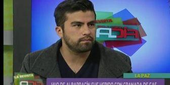 Hijo de Albarracín afirma que le apuntaron y dispararon de forma deliberada