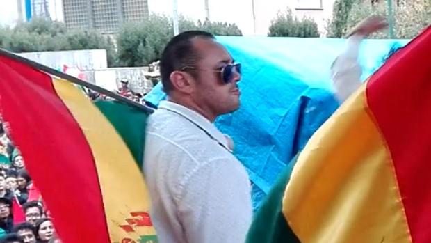 Pablo Llano fue despedido de una emisora de La Paz tras participar en 21F