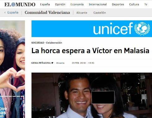 Interceden por boliviano condenado a la horca en Malasia