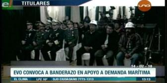 Video titulares de noticias de TV – Bolivia, mediodía del miércoles 14 de febrero de 2018