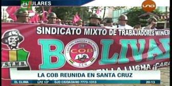 Video titulares de noticias de TV – Bolivia, noche del lunes 19 de febrero de 2018