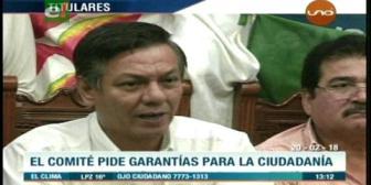Video titulares de noticias de TV – Bolivia, mediodía del martes 20 de febrero de 2018