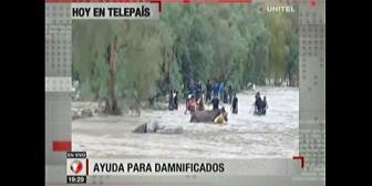 Video titulares de noticias de TV – Bolivia, noche del jueves 15 de febrero de 2018