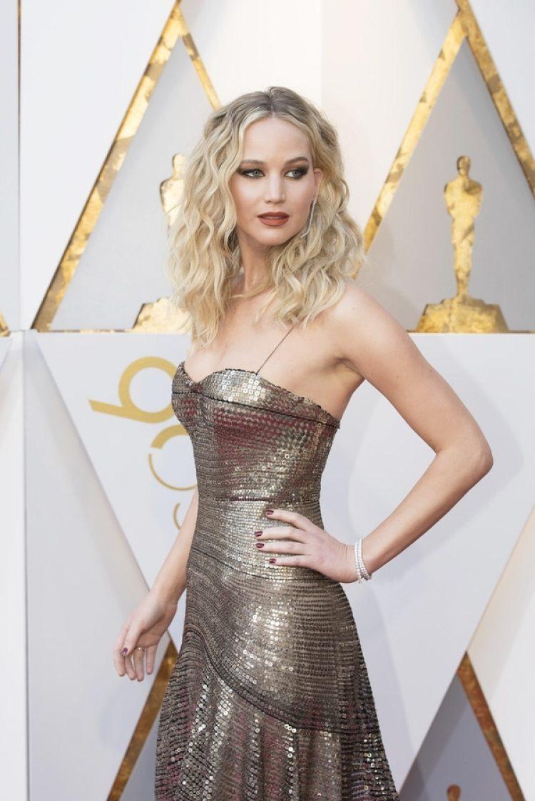 Jennifer Lawrence en los Oscar 2018