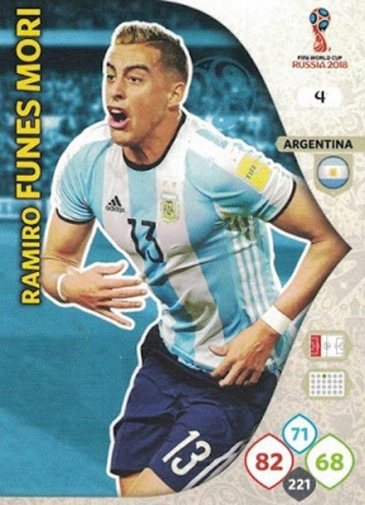 La versión Adrenalyn de Ramiro Funes Mori (Yo soy mundial)