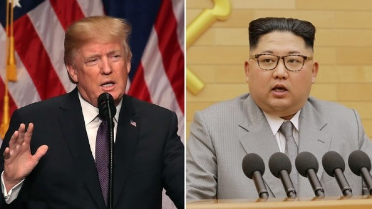 El presidente estadounidense, Donald Trump, y el dictador norcoreano, Kim Jong-un (Getty / Reuters)