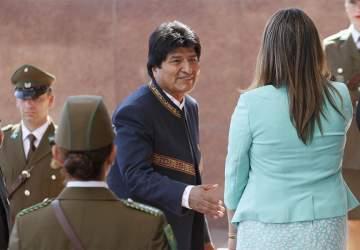 Resultado de imagen para Evo Morales llegó al Congreso a solo días de los alegatos orales en La Haya