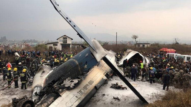 Al menos 20 personas habrían sido rescatadas con heridas de diferente gravedad. En el avión volaban 67 pasajeros y cuatro tripulantes(Reuters)