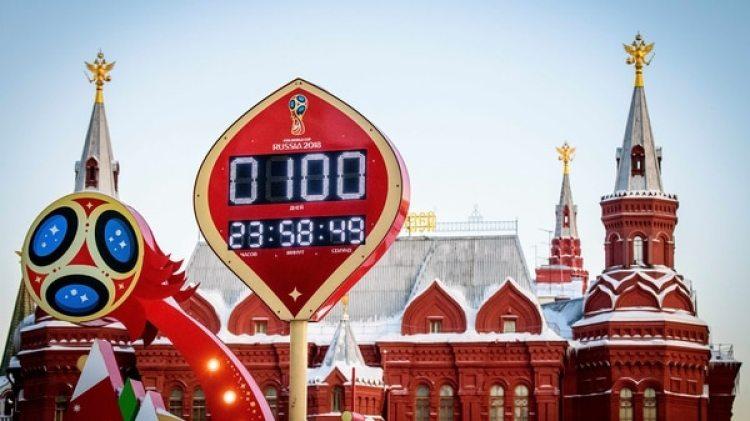 Faltan 93 días para que se dispute el partido inaugural del Mundial entre Rusia y Arabia Saudita (AFP)