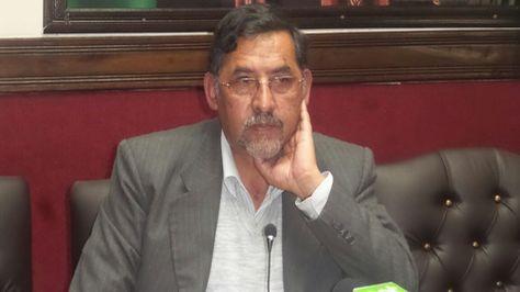 El ministro de Trabajo Héctor Hinojosa.