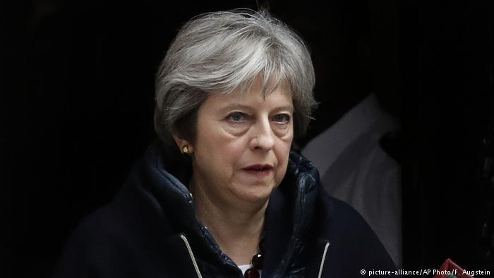 Theresa May (picture-alliance/AP Photo/F. Augstein)