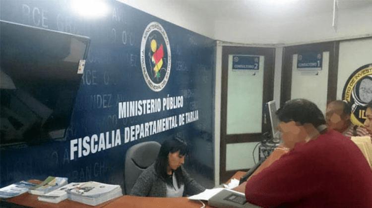 Fiscalia de Tarija ilustrativa