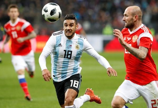Messi llegó a Manchester y se entrenó al ritmo de la Selección