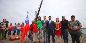 Antofagasta es de Chile, le dicen a Evo desde el muelle en el que comenzó la invasión a Bolivia