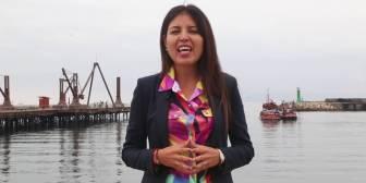 Alcaldesa de Antofagasta confía en que fallo de La Haya será favorable y llama a la calma
