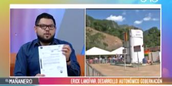 Gobernación de Santa Cruz acepta debate por Incahuasi