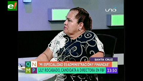 Por primera vez una mujer formará parte de la Federación Boliviana de Fútbol
