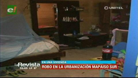 Delincuentes ingresan a una vivienda del barrio Maipaiso y roban varios objetos