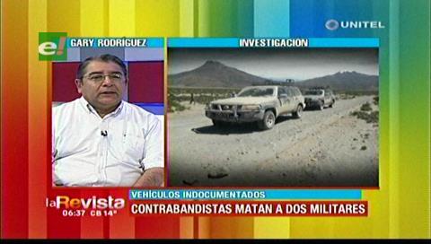 El IBCE denuncia que contrabandistas tienen un sistema de inteligencia en las fronteras