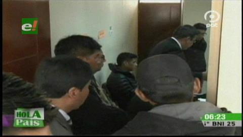 El Alto: Liberan a teniente que disparó contra ladrones