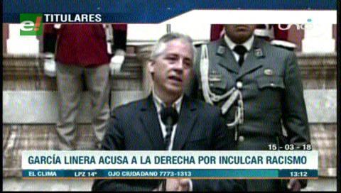 Video titulares de noticias de TV – Bolivia, mediodía del jueves 15 de marzo de 2018