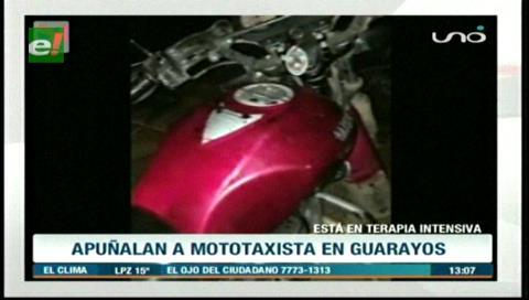 Mototaxista recibió 11 puñaladas por la espalda de su pasajero