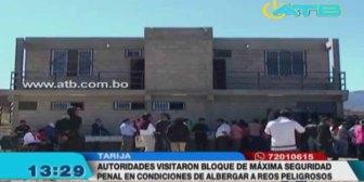 Penal de Morros Blancos está en condiciones de albergar reos de alta peligrosidad, según autoridades