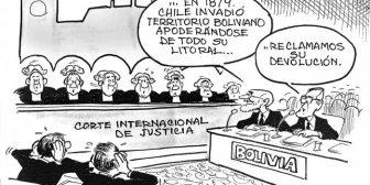 Caricaturas de Bolivia del martes 20 de marzo de 2018