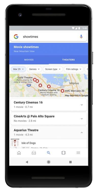 72d39325d8a Google optimiza la búsqueda de información para ver películas en el cine –  eju.tv