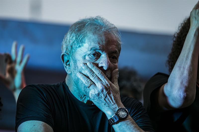Lula da Silva rompe el silencio para reivindicar su inocencia