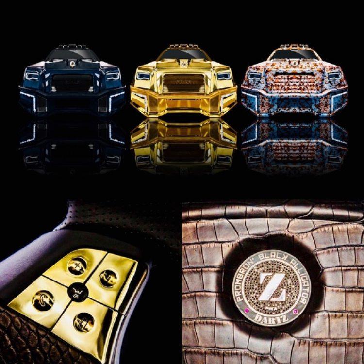 Todo lo que brilla es realmente oro, o rubíes, en el Dartz Black Alligator