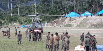 Militares y policías denuncian que los cocaleros los emboscaron y atacaron en La Asunta