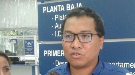 El fiscal departamental de Santa Cruz, Freddy Larrea.