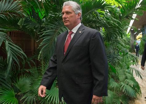 El actual primer vicepresidente cubano, Miguel Díaz-Canel. Foto: EFE