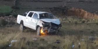 La Paz. Fallece el alcalde de Escoma en un accidente de tránsito