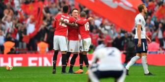 Manchester United venció a Tottenham y se metió en la final de la FA Cup