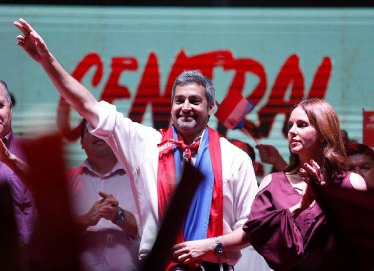 Mario Abdo Benitez. (REUTERS/Andres Stapff)