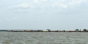 Nueva Venecia, el pueblo del agua que sale a flote del dolor