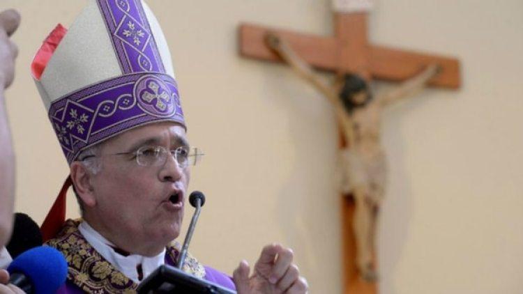 Silvio Báez, obispo auxiliar de Managua.