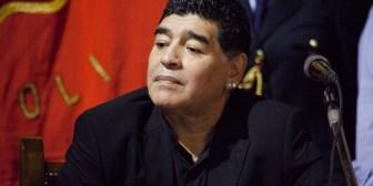 Maradona celebró la victoria del Napoli en sus redes sociales