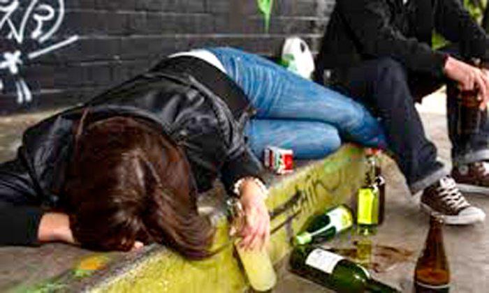 POLICÍA PIDE MAYOR CONTROL SOBRE MENORES, DEBIDO A LA TEMPRANA EDAD EN LA QUE EMPIEZA EL CONSUMO DE ALCOHOL.