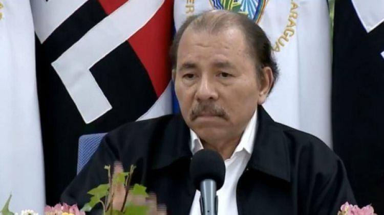El presidente de Nicaragua Daniel Ortega