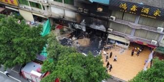 Se incendió un karaoke en China y murieron al menos 18 personas