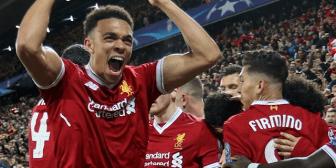 Liverpool y Roma, un choque de sorpresas con historia