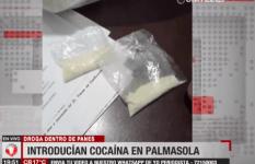 Detienen a una mujer que introducía cocaína al penal de Palmasola