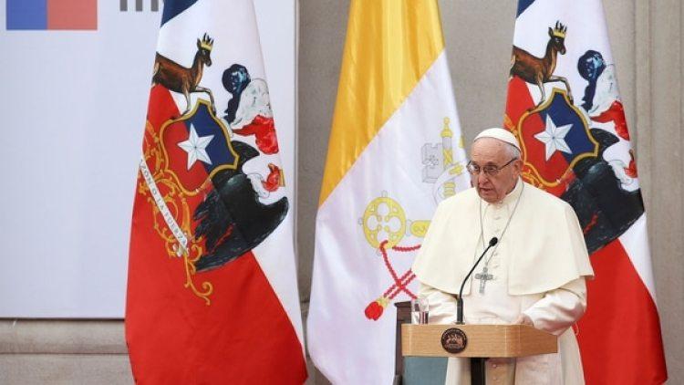 Francisco visitó este año Chile (Reuters)