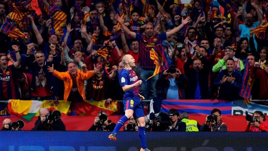 Andrés Iniesta anuncia su salida del Barcelona